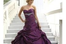 Cerise Pink & Grape Wedding