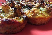 Low Carb  Herzhafte Muffins