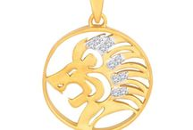 Diamond Zodiac Pendants