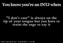 INTJ - The Hubby! / by Olivia Bridges