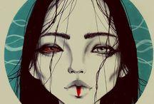 Harumi Hironaka Illustration