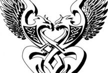 My tattoo that I modified / I found this pic years ago and modified it and got it as my last tattoo!