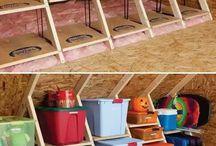Ordnung Dachboden