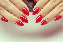 nails / nail,nail,  gelnails,hybryda,Color, nail inspiration,