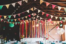 Inspiration || Colourful Summer Wedding Theme / From vibrant chinese lanterns to classic pink roses, find inspiration for every aspect of a colourful wedding.