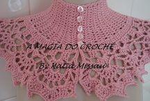 cuello a crochet  elegante