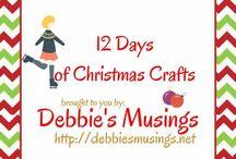 12 Days of Christmas Crafts / DIY Christmas Crafts and Home Decor