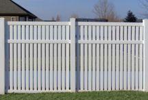 Semi-Privacy Style Vinyl Fencing / Semi-Privacy Style Vinyl Fencing