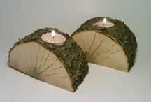 Výrobky z dreva / Rôzne drevené aranžmá