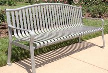 Park Benches / Classic Park Bench Designs For Commercial Use