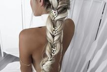 prewedding hair