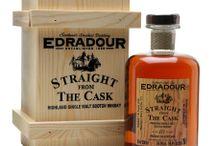 Edradour single malt scotch whisky / Edradour single malt scotch whisky