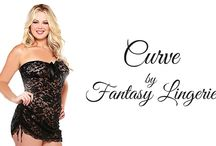 Curve by Fantasy Lingerie  / New Sexy Plus Size Lingerie Now in Stock! ALL comes in sizes 1x/2x & 3x/4x