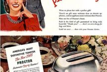 Christmas Marketing Ads. / Christmas ads from a bygone day.
