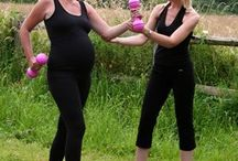 Safe pregnancy exercise tips / Frequently asked questions about pregnancy exercise and advice for a happy fit pregnancy!