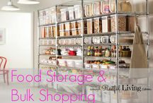 Food Storage - Bulk Shopping