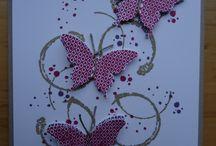 Card - SU papillon potpourri