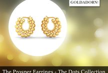 The Dots Collection / Exclusively Designer Fine Gold Jewellery