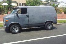 VerzamelVan...Shorty... / Chevrolet...Short Wheel Base Vans