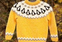 chunky fairsle knitting