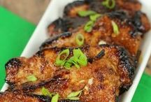 pork roasts and chops