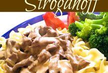 beef stroganoff easy
