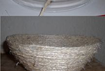 Twine and rope / Things I made out of twine and rope.