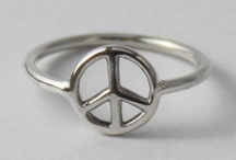 Peace sign jewellery