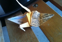 1000 paper cranes of hope / I'm going to make 1000 paper cranes in hope my husband makes the best possible recovery