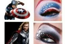 Hero makeup