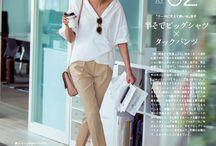 サマーファッションサンプル