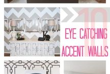 Interior Design Ideas| WALL TO WALL... / Things you put on your walls... / by Jessi Thompson