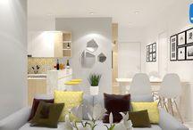 Nội thất căn hộ Masteri Thảo Điền / nội thất căn hộ Masteri Thảo ĐIền, design by Vinacolors.com