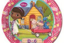 Doc McStuffins / Doutoura Brinquedos Party supplies for Doc McStuffins théme party