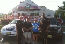 """Cool Off with a Cop - Rita's Water Ice / The Evesham Police Department would like to thank Rita's water Ice for hosting """"Cool Off with a Cop"""" on June 26th, 2014.  The officers got to meet many of the township residents and even made some of them """"Jr. Police Officers.""""  Any business wishing to participate in this program should contact Sgt. Ron Ritter at ritterr@eveshampd.org."""