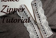 Snowflakes & Lace / A collection of sewing projects using lace!