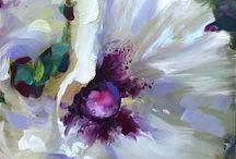 kunst/ bloemen