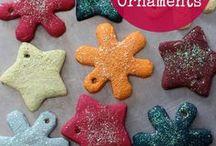Salts dough ornaments