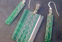 Circuitboard jewelry