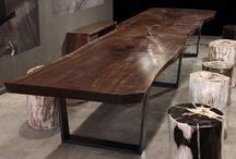 Reclaimed Wood Conference Rm Table