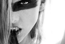 Black face paint