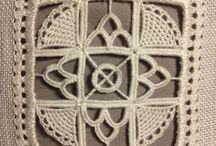 Robótki / patchwork, haft