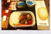Airplane Food Art