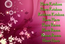 Art Work - Holy Name / Beautifull wallpapers of Chant Hare Krishna Mahamantra maid by ISKCON Desire Tree