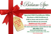 Christmus Gift Certificate / THE GIFT THAT KEEPS ON GIVING. Take advantage of this promotion while it lasts! Christmas is on it's way!