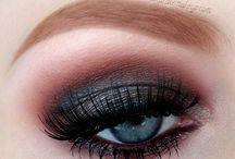 Eye make up close ups