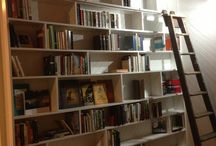 House Design / Bookcase wall