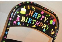 Happy Birthday in the classroom