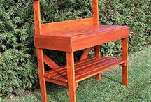 Table de jardinage en bois de cèdre