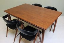 Mid Century Dining / Tables and chairs for the retro home and kitchen
